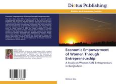 Bookcover of Economic Empowerment of Women Through Entrepreneurship
