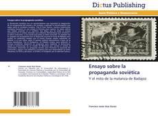 Borítókép a  Ensayo sobre la propaganda soviética - hoz