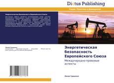 Bookcover of Энергетическая безопасность Европейского Союза