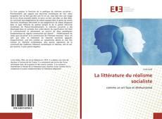 Capa do livro de La littérature du réalisme socialiste