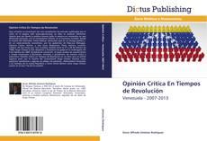 Opinión Crítica En Tiempos de Revolución kitap kapağı