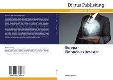 Buchcover von Europa -   Ein soziales Desaster