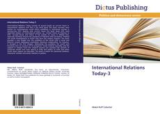 Buchcover von International Relations Today-3