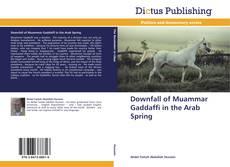 Downfall of Muammar Gaddaffi in the Arab Spring kitap kapağı