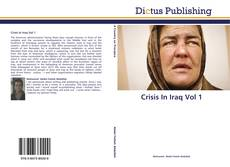 Crisis In Iraq Vol 1 kitap kapağı