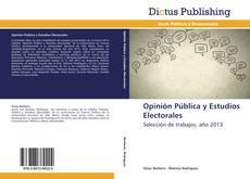 Opinión Pública y Estudios Electorales kitap kapağı