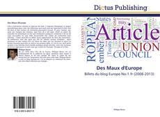 Borítókép a  Des Maux d'Europe - hoz