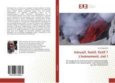 Capa do livro de Intrusif, festif, fictif ? L'événement, ciel !