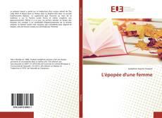 Bookcover of L'épopée d'une femme