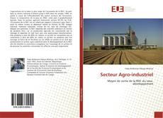 Buchcover von Secteur Agro-industriel