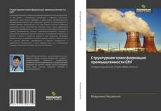 Buchcover von Структурная трансформация промышленности СНГ