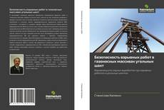 Buchcover von Безопасноcть взрывных работ в газоносных массивах угольных шахт