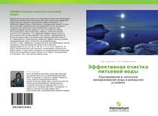 Buchcover von Эффективная очистка питьевой воды