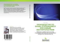 Capa do livro de Производство по вновь открывшимся или новым обстоятельствам