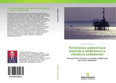 Copertina di Установка цементных мостов в нефтяных и газовых скважинах