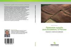 Bookcover of Правовая судьба сельхозземель в России