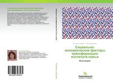 Обложка Социально-экономические факторы трансформации института семьи