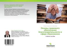 Portada del libro de Основы правового обеспечения благотворительности в сфере образования