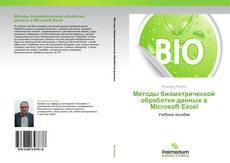 Portada del libro de Методы биометрической обработки данных в Microsoft Excel