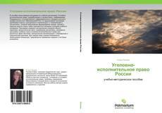 Обложка Уголовно-исполнительное право России