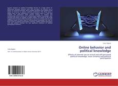 Bookcover of Online behavior and political knowledge