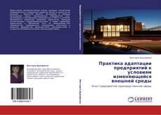 Bookcover of Практика адаптации предприятий к условиям изменяющейся внешней среды