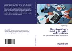 Bookcover of Client-Consultancy Relationship in ERP Implementation