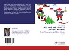 Couverture de Consumer Behaviour of Russian Speakers