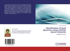 Buchcover von Identification of load dynamics using artificial neural networks