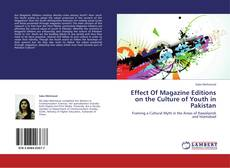 Bookcover of Effect Of Magazine Editions on the Culture of Youth in Pakistan