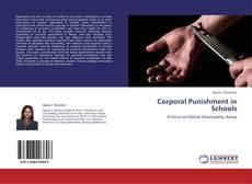 Couverture de Corporal Punishment in Schools