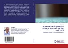 Portada del libro de Informational system of management accounting and costs
