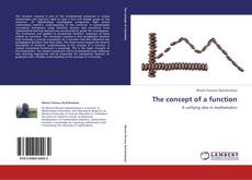 Couverture de The concept of a function