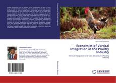 Economics of Vertical Integration in the Poultry Industry的封面