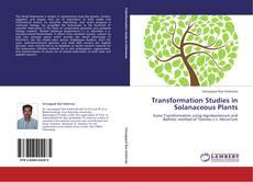 Capa do livro de Transformation Studies in Solanaceous Plants