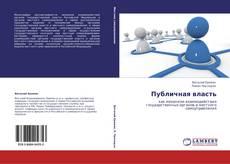 Buchcover von Публичная власть
