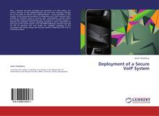 Bookcover of Deployment of a Secure VoIP System