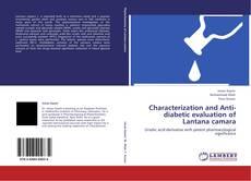 Обложка Characterization and Anti-diabetic evaluation of Lantana camara
