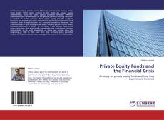 Buchcover von Private Equity Funds and the Financial Crisis