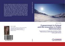 Buchcover von E-government in Finland and the innovation in Public Administration
