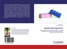 Bookcover of Quality Management