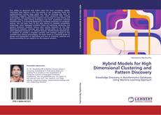 Capa do livro de Hybrid Models for High Dimensional Clustering and Pattern Discovery