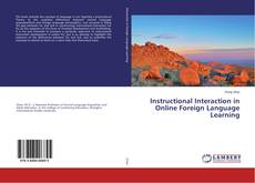 Instructional Interaction in Online Foreign Language Learning kitap kapağı