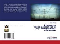 Обложка Измерение и экономическая оценка услуг электросетевых предприятий