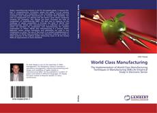 Couverture de World Class Manufacturing