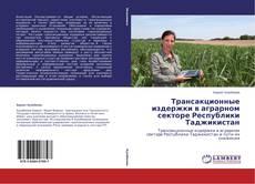 Обложка Трансакционные издержки в аграрном секторе Республики Таджикистан