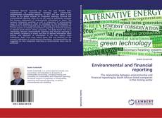 Bookcover of Environmental and financial reporting