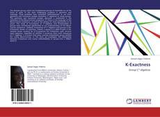 Borítókép a  K-Exactness - hoz