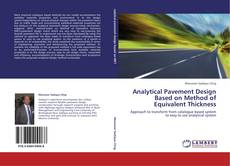 Copertina di Analytical Pavement Design Based on Method of Equivalent Thickness