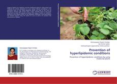Couverture de Prevention of hyperlipidemic conditions